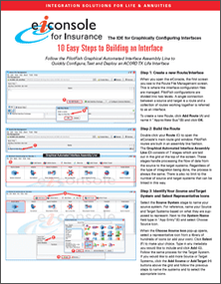 10 Easy Steps to Build an Insurance L&A Interface