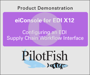 Configuring an EDI Supply Chain Workflow Interface